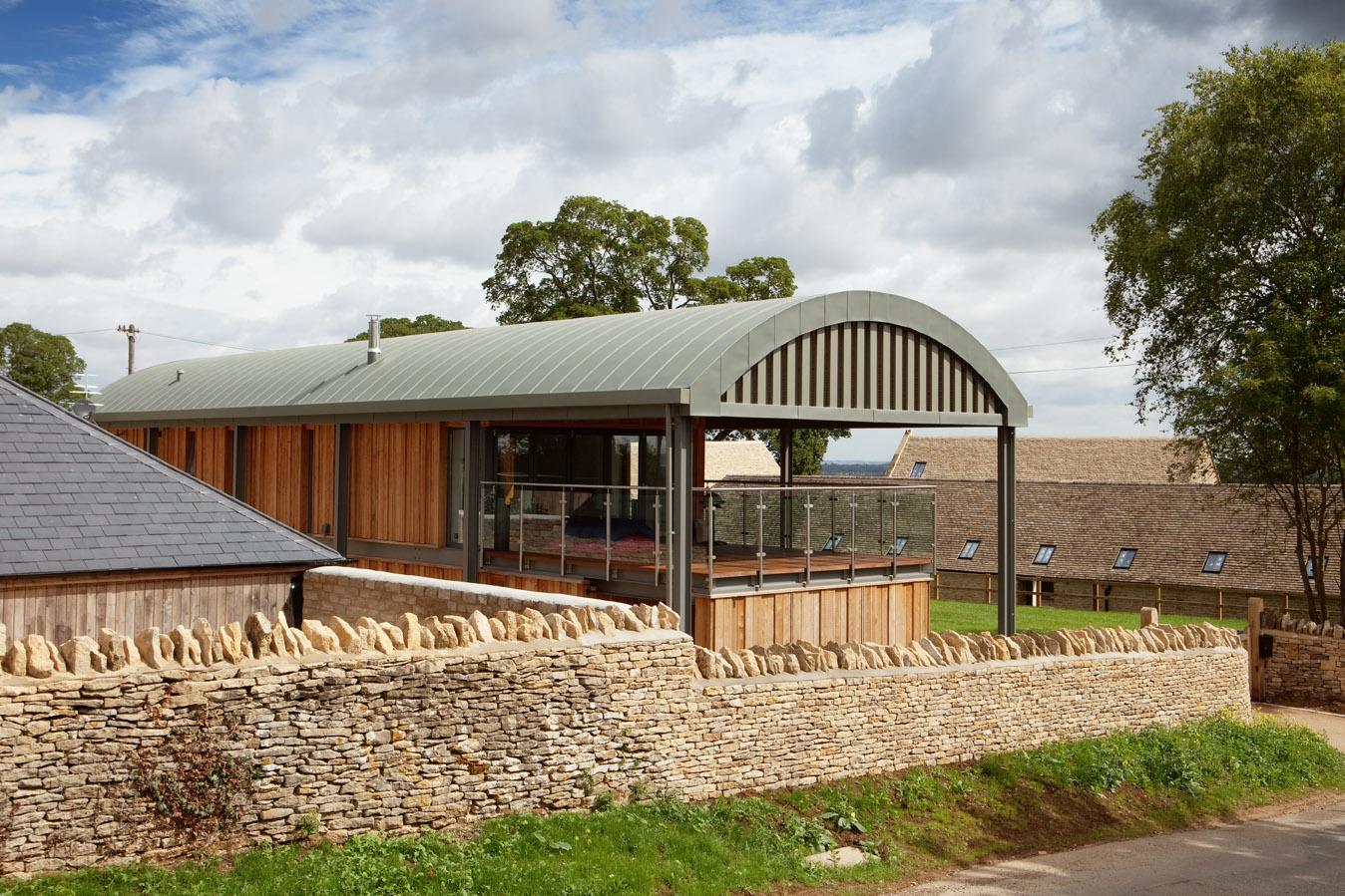 Manor Farm Barns Metalex Roofing Ltd
